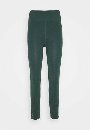 ONPJAVO CIRCULAR TIGHTS - Collants - darkest spruce