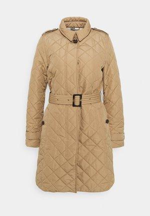 BARBOUR CALEDONIAN QUILT - Krátký kabát - hessian/hessian tartan