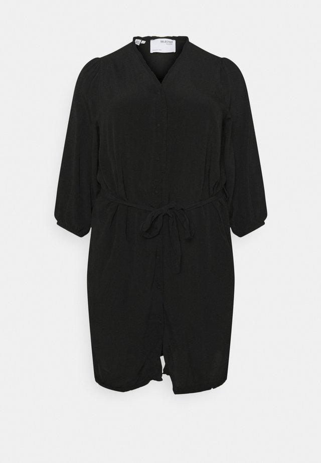 SLFMIRA SHORT DRESS - Korte jurk - black