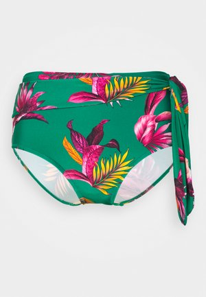 PARADISO BELTED HIGH WAISTED CONTROL BRIEF - Bikini bottoms - green