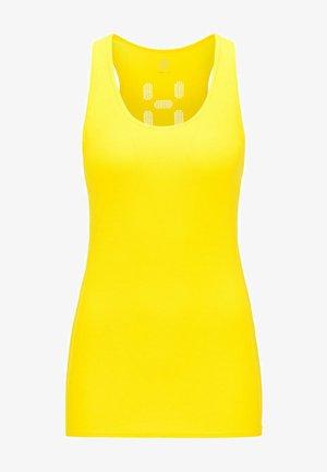 L.I.M TECH TANK - Funktionströja - signal yellow