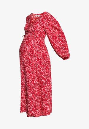 DRESS - Denní šaty - red