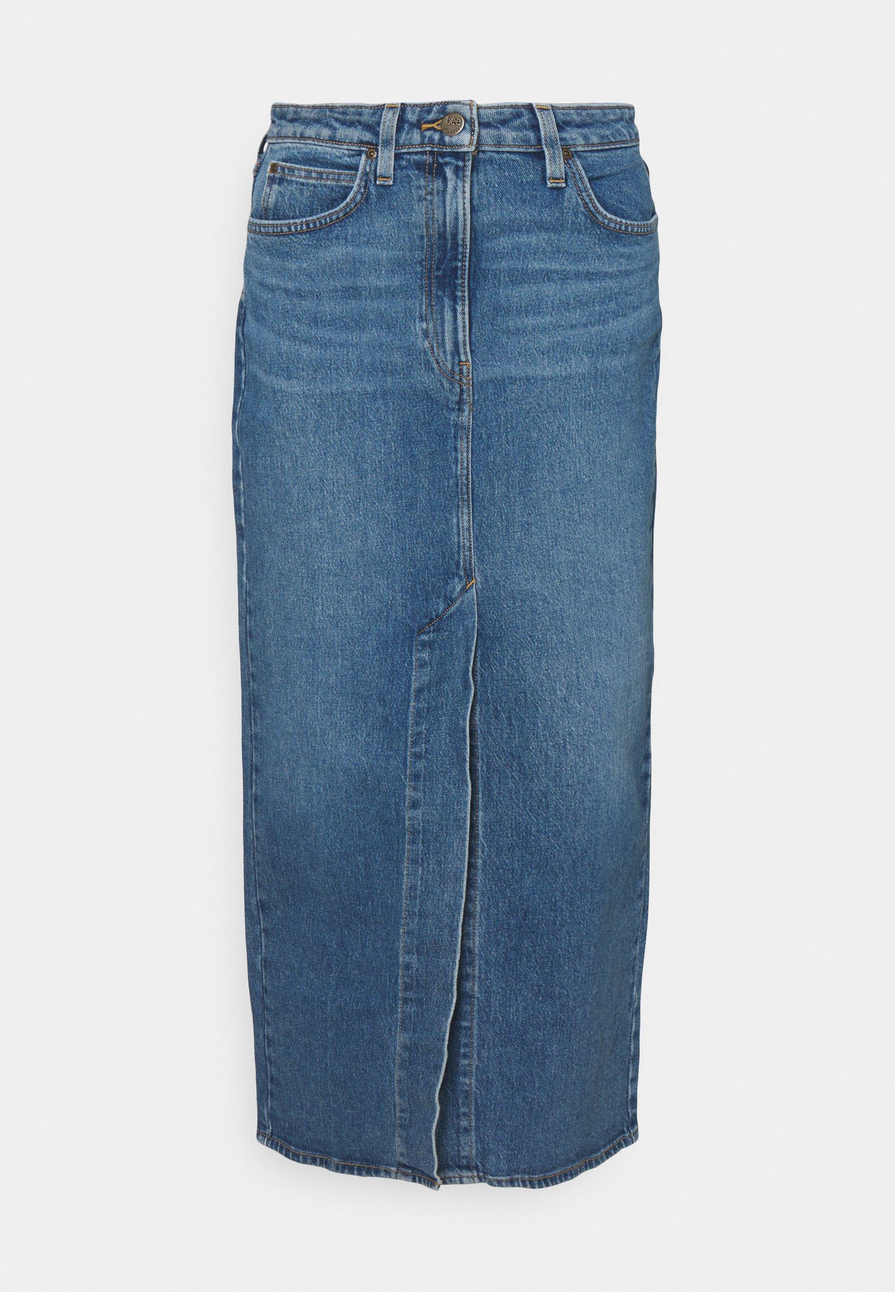 Femme ULTRA LONG SPLIT  - Jupe en jean
