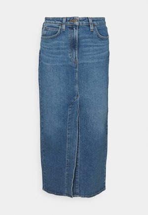 ULTRA LONG SPLIT  - Gonna di jeans - vintage lewes