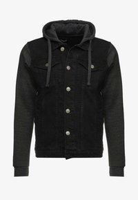 Džínová bunda - black/ dark grey