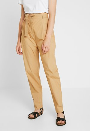 VIGGA PANTS - Trousers - iced coffee