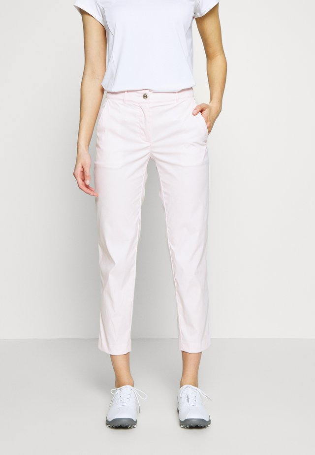 CROKE HIGH WATER - Trousers - barley pink