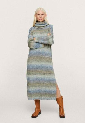 Vestido de punto - blau