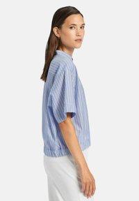 Uta Raasch - Button-down blouse - marine - 3
