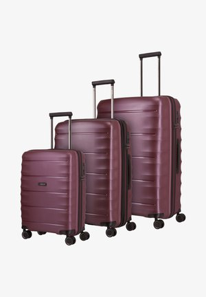 SET - Luggage set - merlot