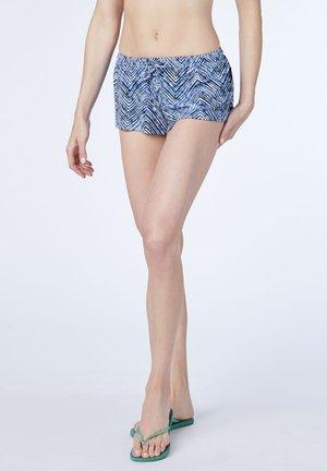 Swimming shorts - d gry/d blu aop