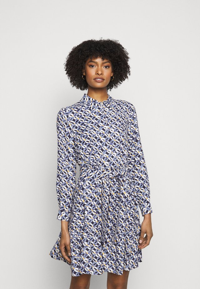 ROSATEA - Shirt dress - sky blue