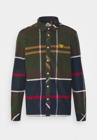 Barbour Beacon - BROAD - Shirt - olive/dark blue/red - 0