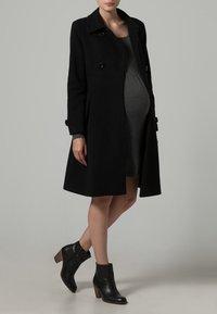 JoJo Maman Bébé - Płaszcz wełniany /Płaszcz klasyczny - black - 0