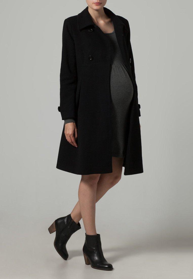 JoJo Maman Bébé - Płaszcz wełniany /Płaszcz klasyczny - black