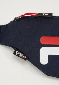 Fila - WAIST BAG SLIM - Bum bag - black iris - 7