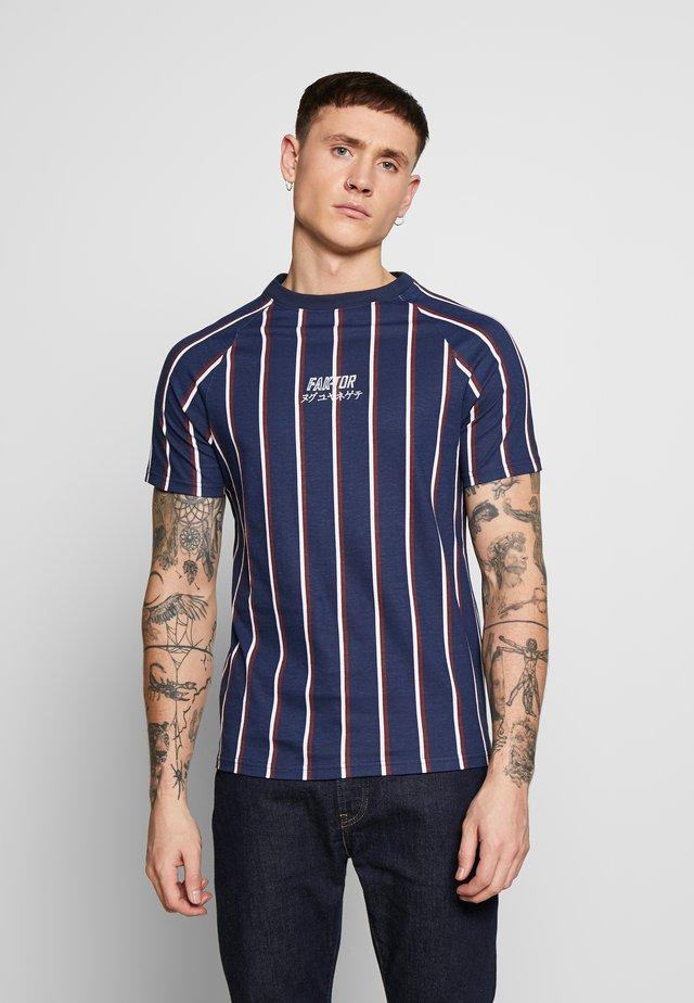KOWL TEE - T-shirts med print - navy