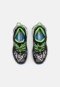 Skechers - MEGA-CRAFT - Trainers - black/blue/lime - 3