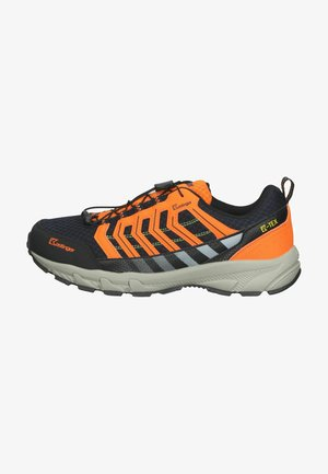 Sneakers laag - dk navy/orange