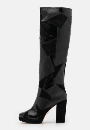 HANYA BOOT - Højhælede støvler - black