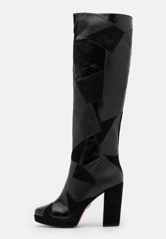 HANYA BOOT - High heeled boots - black