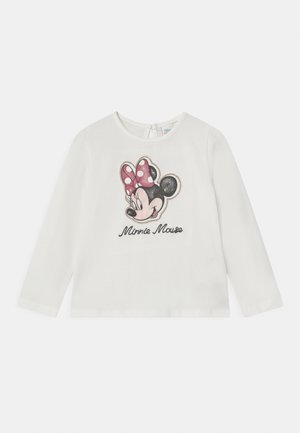 MINNIE - Long sleeved top - snow white
