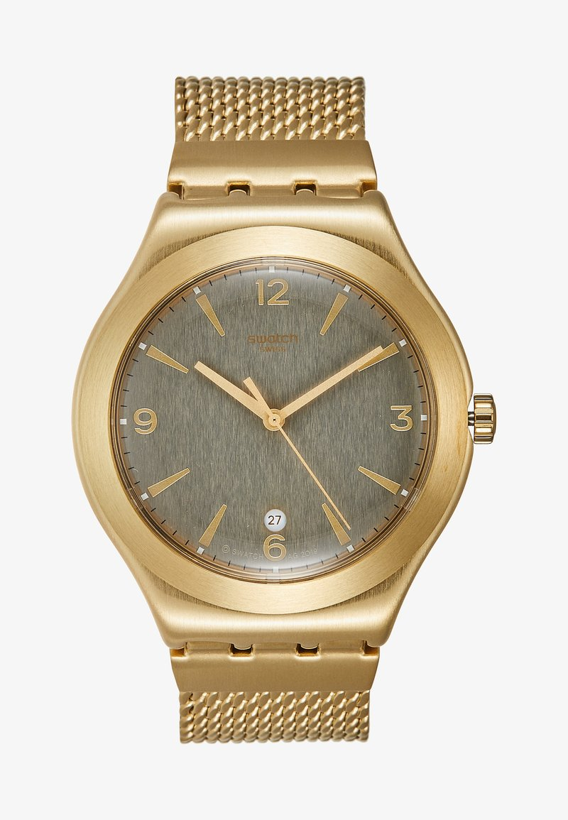 Swatch - MESH O'LIGHT - Orologio - gold-coloured