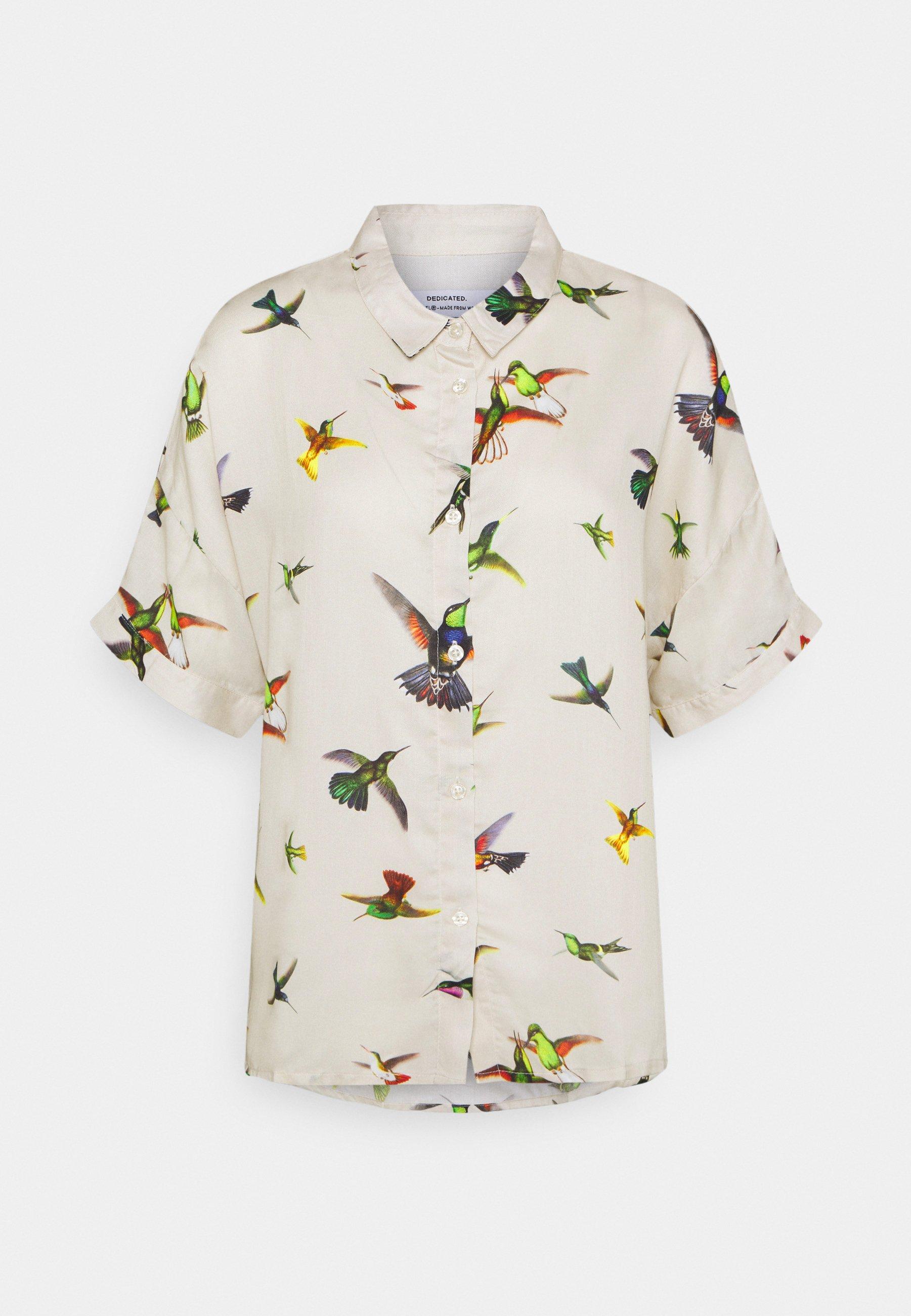 Women NIBE FLYING HUMMINGBIRDS - Button-down blouse