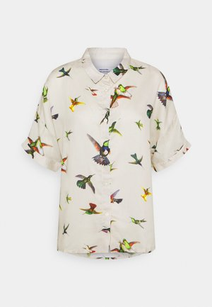 NIBE FLYING HUMMINGBIRDS - Button-down blouse - multi color