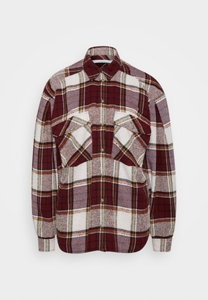 HATIK - Button-down blouse - red
