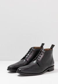 Melvin & Hamilton - FREDDY - Elegantní šněrovací boty - remo black - 2