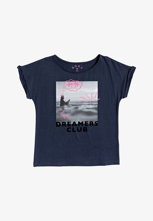 GIRLFRIEND - Print T-shirt - mood indigo