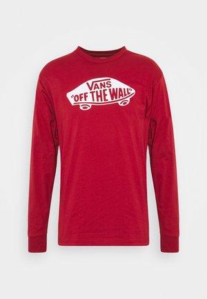 LONG SLEEVE - T-shirt à manches longues - cardinal