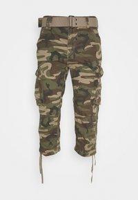 Schott - Shorts - kaki - 4