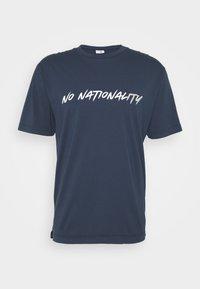 NN07 - DYLAN TEE  - T-shirt imprimé - navy blue - 5