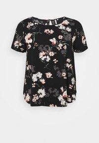ONLY Carmakoma - CARLUXMAJA  - Print T-shirt - black - 5