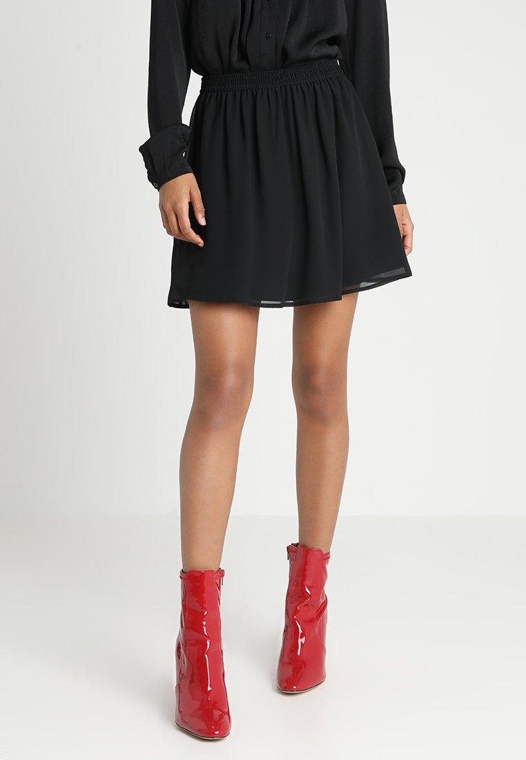 Even&Odd - A-snit nederdel/ A-formede nederdele - black