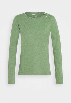 FLORAH LONG - Long sleeved top - green