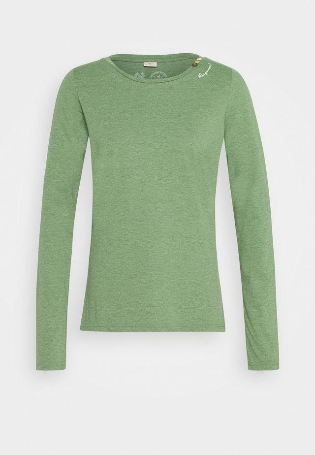 FLORAH LONG - Pitkähihainen paita - green