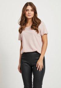 Vila - VISUS  - Basic T-shirt - pink - 0