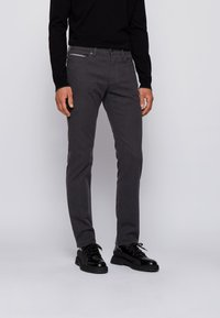 BOSS - DELAWARE3-1-20+ - Slim fit jeans - dark grey - 0