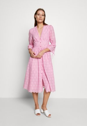 BROIDERY ANGLAISE DRESS - Day dress - blush