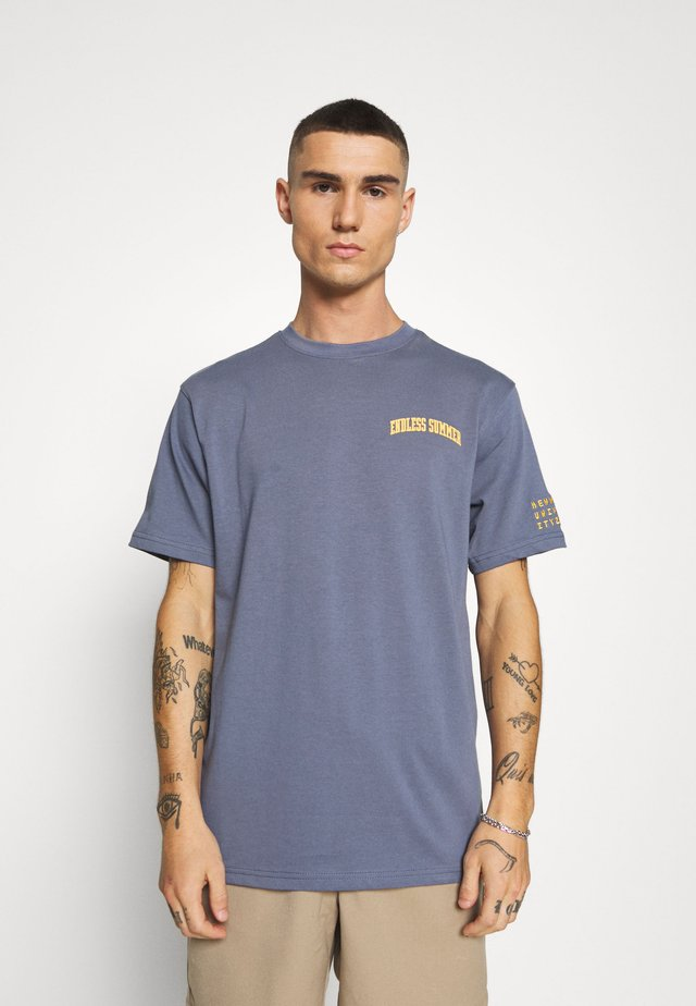 ENDLESS SUMMER - T-shirt imprimé - navy