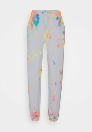 RAINBOW TIE DYE PRINT - Tracksuit bottoms - multi