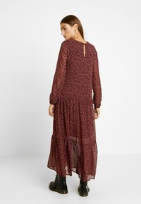 Vero Moda - VMROBERTA ANCLE DRESS - Maxi dress - port royale/brick dust - 3