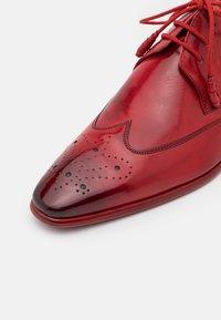 Melvin & Hamilton - ELVIS - Šněrovací boty - ruby - 5