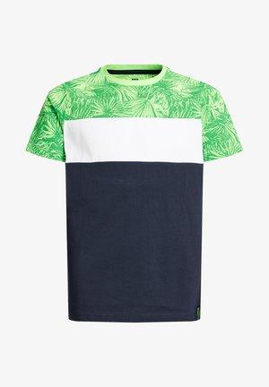 MET COLOURBLOCK - Printtipaita - green