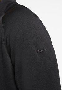 Nike Golf - DRY PLAYER HALF ZIP - Mikina - black - 4
