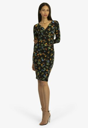 Shift dress - schwarz/multicolor