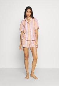 Marks & Spencer London - HANGING SHORT SET - Pyjamas - pink - 1